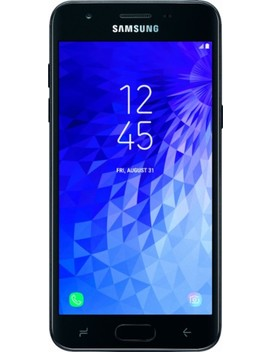 Galaxy J3 Top With 16 Gb Memory Cell Phone (Unlocked)   Black by Samsung
