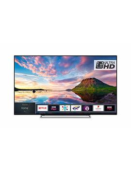 Toshiba 55 U5863 Db 55 Inch Smart 4 K Ultra Hd Hdr Led Wi Fi Tv With Freeview Play  Black/Silver (2018 Model), Enabled With Amazon Dash Replenishment by Toshiba