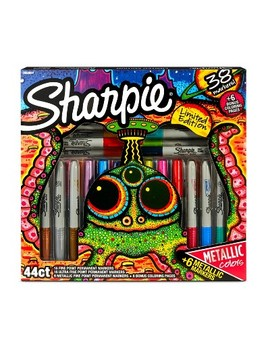 Sharpie Permanent Markers 44ct   Multicolor by Sharpie