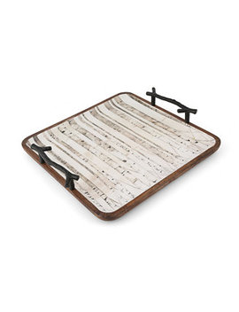 Trees Square Serving Tray by Thirstystone