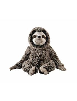 """The Petting Zoo Plush Super Soft Frosted Brown 13"""" Three Toed Sloth by The Petting Zoo"""