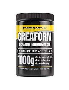 Prima Force Creaform Powder Supplement – Maximizes Strength Gains/Promotes Lean Mass/Enhances Recovery – 1,000 Grams by Primaforce
