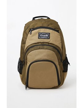 Dakine Campus 25 L Olive Laptop Backpack by Pacsun