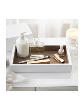 White Lacquer Open Tray by The White Company
