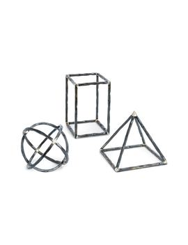 Set Of 3 Geometric Shapes by Regina Andrew Design