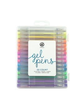 30ct Gel Pens In Case   Ubrands by U Brands