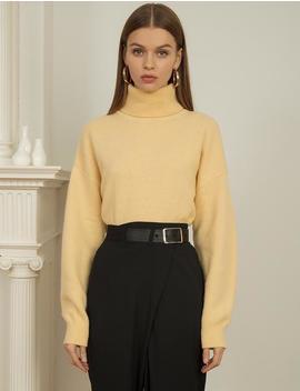 Vanilla Cashmere Sweater by Pixie Market
