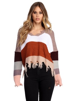 Just Block 'em Pullover Sweater by Windsor