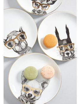 Creating Spectacles Dessert Plate Set by Modcloth