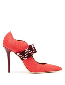 Mannie Woven Pumps by Malone Souliers