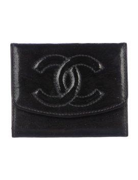 Vintage Cc Cardholder by Chanel
