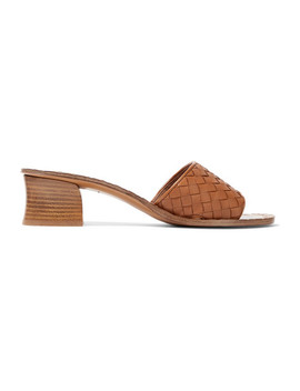 Intrecciato Leather Mules by Bottega Veneta