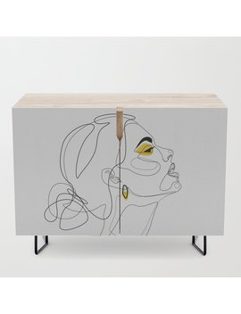 Color Beauty Credenza by