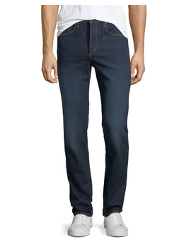 Men's Standard Issue Fit 3 Loose Fit Straight Leg Jeans, Dark Blue by Rag & Bone