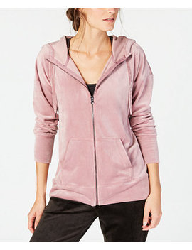 Velour Zip Hoodie, Created For Macy's by Ideology