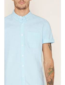 Cotton Blend Shirt by Forever 21