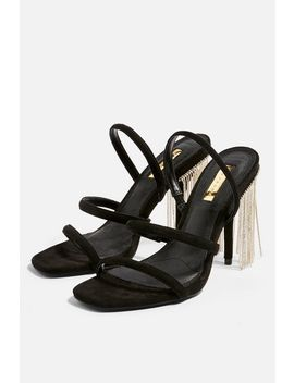 Rain Fringe Strappy Sandals by Topshop
