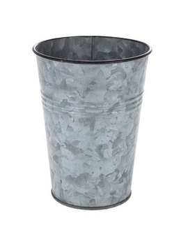 Tall Galvanized Bucket by Hobby Lobby