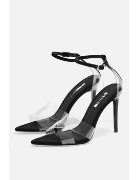 Ritchie Clear Strap Sandals by Topshop