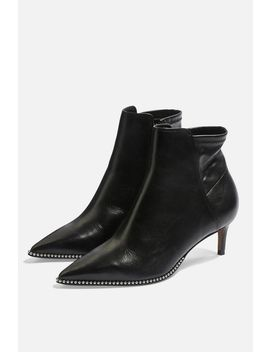 Midnight Mid Ankle Boots by Topshop