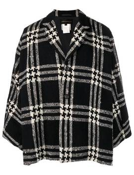 1990's Houndstooh Checked Jacket by Comme Des Garçons