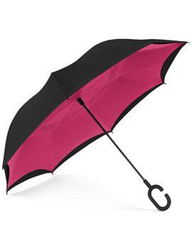 Reversible Open Umbrella by Shedrain