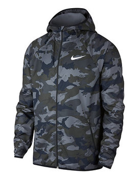 Men's Woven Camo Print Training Jacket by Nike