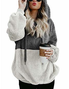 Nvxiyya Women's Warm Long Sleeve Front 1/4 Zipper Fleece Hoodie Sweatshirts With Pockets(S Xxxl) by Nvxiyya