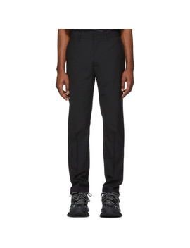 Black Tapered Trousers by 424