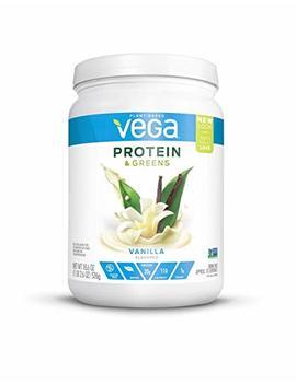 Vega Protein & Greens Vanilla (18 Servings, 1.16 Lb)   Plant Based Protein Powder, Gluten Free, Non Dairy, Vegan, Non Soy, Non Gmo by Amazon