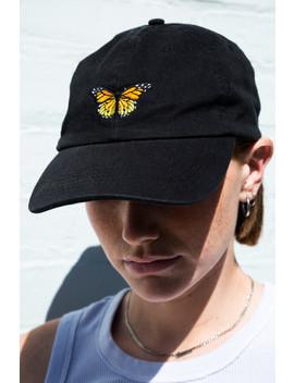 Katherine Butterfly Cap by Brandy Melville