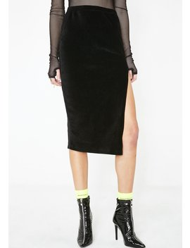 Midi Cheri Split Skirt by Motel