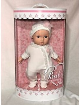 "You & Me Baby So Sweet 16 "" Nursery Doll Blonde With Blue Eyes New by Zapf Creation"