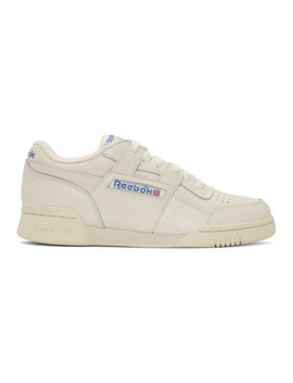 White Workout Plus 1987 Tv Sneakers by Reebok Classics