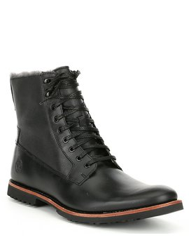 Men's Kendrick Warm Lined Leather Boots by Timberland