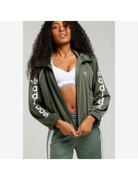 Adidas Women's Track Top Green by Adidas