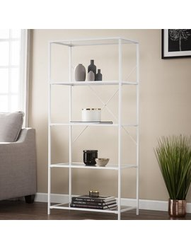 Ebern Designs Orenstein 5 Tier Etagere Bookcase & Reviews by Ebern Designs