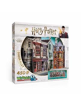 Wrebbit 3 D Puzzle Harry Potter Diagon Alley Puzzle by Wrebbit 3 D Puzzle