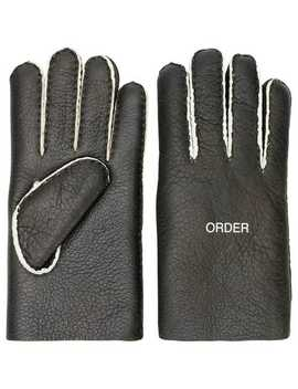 'order/Disorder' Gloves by Undercover