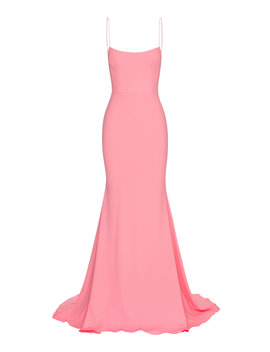 Kyle Satin Singlet Gown by Alex Perry