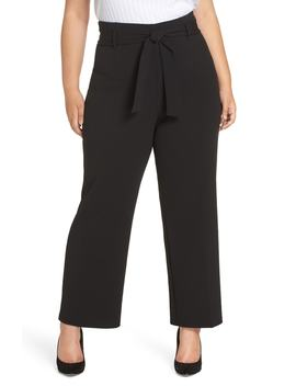 High Waist Belted Pants by Leith