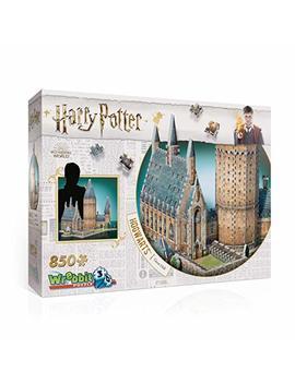 Wrebbit 3 D W3 D 2014 Harry Potter Hogwarts Great Hall Puzzle, Multicolor by Wrebbit 3 D