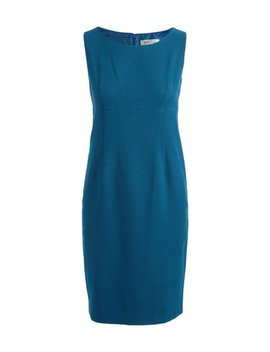 Peacock Twill Sheath Dress   Women by Zulily