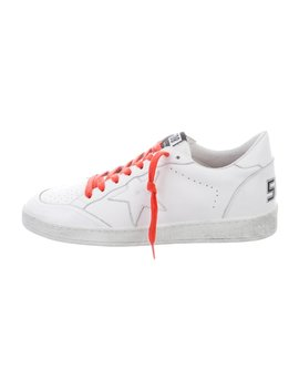 Ballstar Low Top Sneakers by Golden Goose