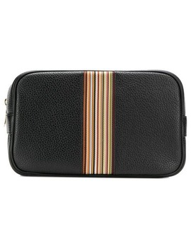 Striped Wash Bag by Paul Smith
