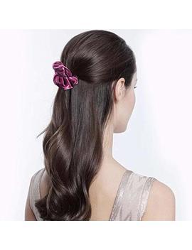 Ondder Velvet Scrunchies Hair Bobble Elastics Hair Scrunchy Hair Bands Headbands Scrunchies Bobbles Hair Ties Gift For Women Girls, 12 Pack by Ondder