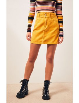 Pac Sun Corduroy Skirt by Pacsun