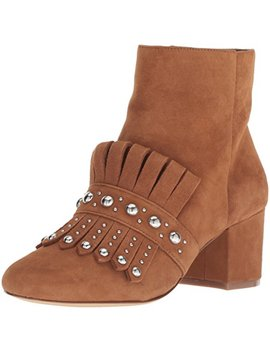 Nine West Women's Qamile Suede Ankle Boot by Nine+West