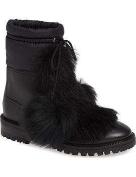 Glacie Genuine Shearling Bootie by Jimmy Choo