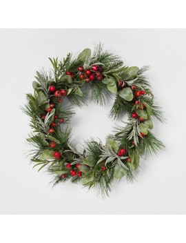 Wreath Rose Hip   Threshold™ by Shop Collections